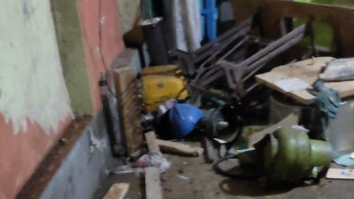 Tabung Ketel Setrika Uap Meledak Timpa Atap Rumah Warga, Sempat Dikira Ledakan Bom